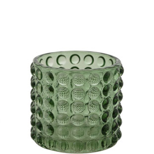 CANDLE HOLDER PIANA SMALL GREEN