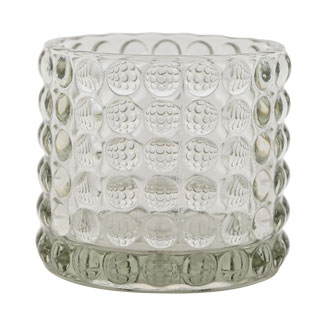 CANDLE HOLDER PIANA LARGE CLEAR