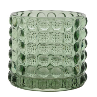 CANDLE HOLDER PIANA LARGE GREEN