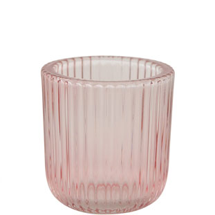 CANDLE HOLDER EMILY PINK SMALL