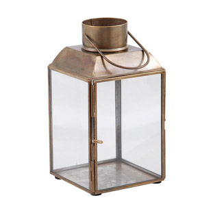 LANTERN AGED ANTIQUE SMALL