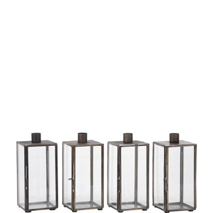 CANDLE HOLDER BOXES 4/SET