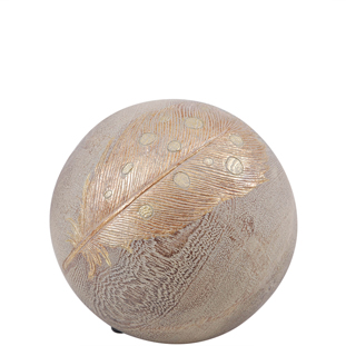 DECORATION BALL FEATHER S