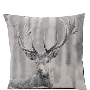 CUSHION COVER FALLOWDEER 45X45 GRÅ