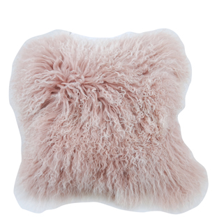 CUSHION COVER FURRY 40X40CM S.O.T PINK
