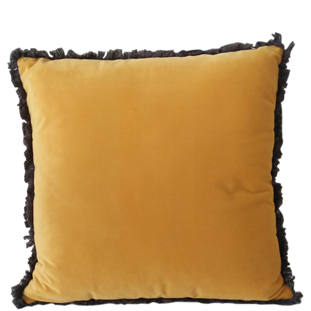 CUSHION COVER VERSAILLES 45X45CM YELLOW