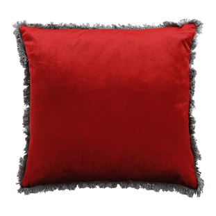 CUSHION COVER VERSAILLES 45X45CM RED