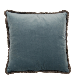 CUSHION COVER VERSAILLES 45X45CM MEDIUM BLUE