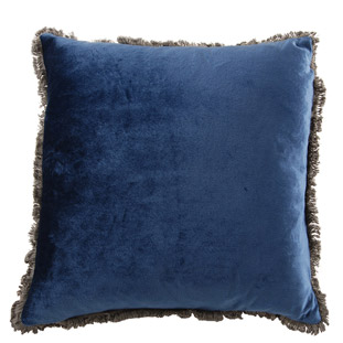 CUSHION COVER VERSAILLES 45X45CM DARK BLUE