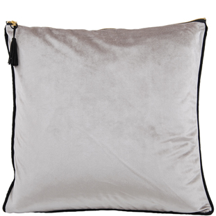 CUSHION COVER CHAMBORD 45X45 LIGHT GREY