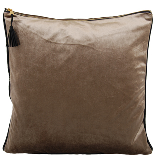 CUSHION COVER CHAMBORD 45X45 TAUPE