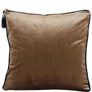 CUSION COVER CHAMBORD 45X45CM BROWN