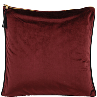CUSHION COVER CHAMBORD 45X45CM BURGUNDY