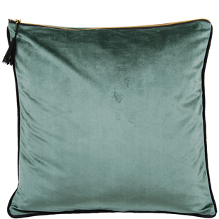 CUSHION COVER CHAMBORD 45X45CM LIGHT GREEN