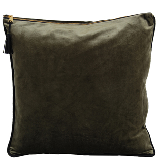 CUSHION COVER CHAMBORD 45X45 FOREST
