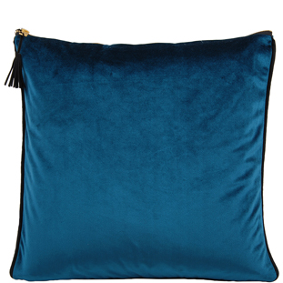 CUSHION COVER CHAMBORD 45X45CM PETROL