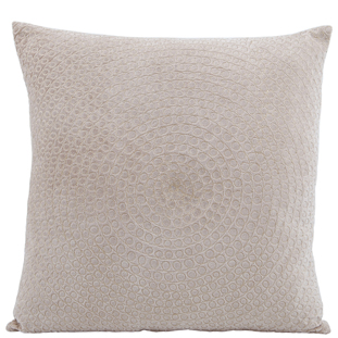 CUSHION COVER CIRCLE 45X45 GOLD