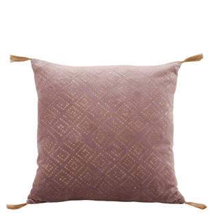 CUSHION COVER SQUARE 45X45CM PURPLE