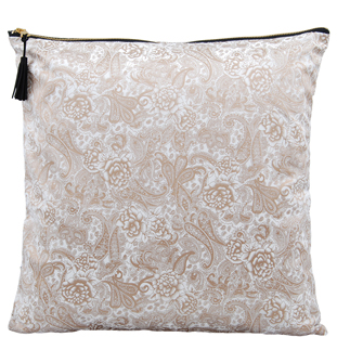 CUSHION COVER AZAY 45X45CM WHITE