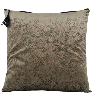 CUSHION COVER AZAY 45X45CM GREEN