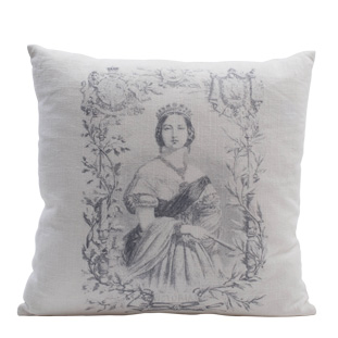 CUSHION COVER ELONORA VIT 45X45