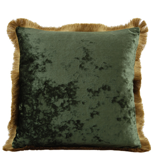 CUSHION COVER CHATEAU 45X45 CM GREEN