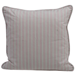 CUSHION COVER STRIPE 45X45CM PINK