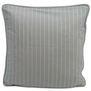 CUSHION COVER STRIPE 45X45CM GREEN