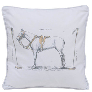 CUSHION COVER POLO 45X45CM
