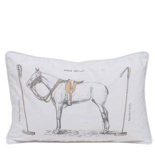 CUSHION COVER POLO 40X60