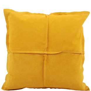 CUSHION COVER PARIS SUEDE 45X45CM YELLOW