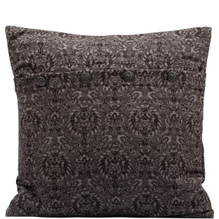 CUSHION COVER MEDALLION 45X45 BRUN