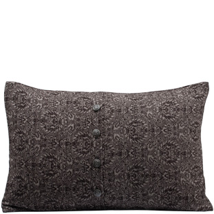 CUSHION COVER MEDALLION 40X60 BRUN