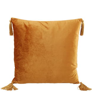CUSHION COVER ASHLEY 45X45CM GOLD