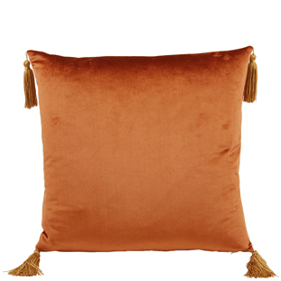 CUSHION COVER ASHLEY 45X45CM RUST