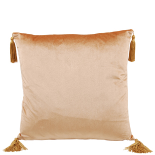CUSHION COVER ASHLEY 45X45CM CHAMPAGNE