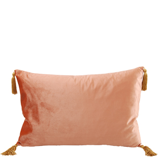 CUSHION COVER ASHLEY 40X60CM PEACH