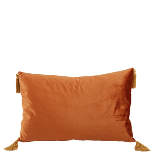 CUSHION COVER ASHLEY 40X60CM RUST