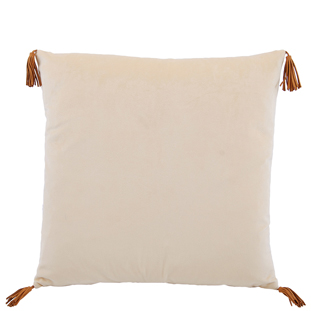 CUSHION COVER CARLTON 45X45CM YELLOW
