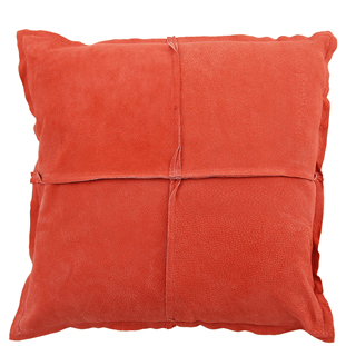 CUSHION COVER PARIS SUEDE 45X45CM RED