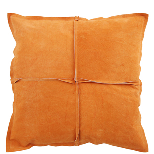 CUSHION COVER PARIS SUEDE 45X45CM ORANGE