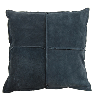 CUSHION COVER PARIS SUEDE 45X45CM BLUE