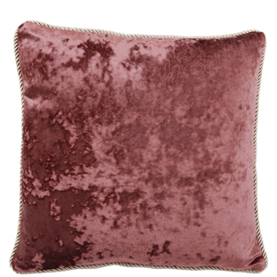 CUSHION COVER CHESHAM 45X45CM PURPLE