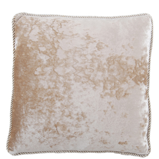 CUSHION COVER CHESHAM 45X45CM WHITE
