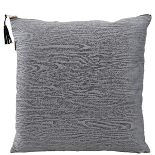 CUSHION COVER WOODY 45X45 GREY