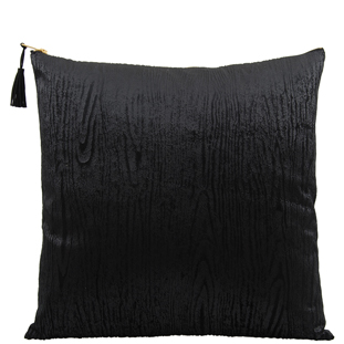 CUSHION COVER WOODY 45X45CM BLACK