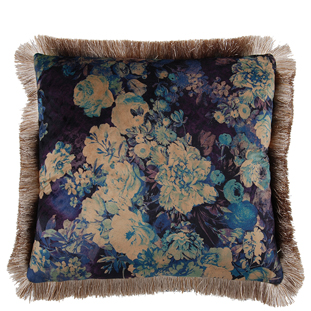 CUSHION COVER FLORIAN WITH FRINGES 45X45CM
