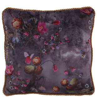 CUSHION COVER BLUMEVILLE WITH PIPING 45X45CM