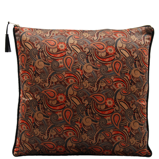 CUSHION COVER KIRKBY 45X45CM BROWN