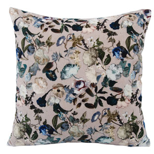CUSHION COVER 45X45CM FLOREO BEIGE
